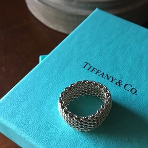 Tiffany & Co. Somerset Ring. Size 7.